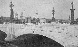 改築当時の日本橋